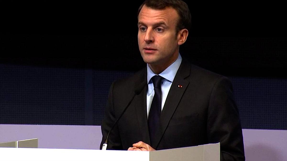 Emmanuel Macron appelle l'Europe à accélérer sa stratégie sur le GNV