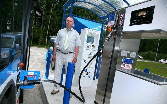 L'Estonie va �tendre son r�seau de stations GNV