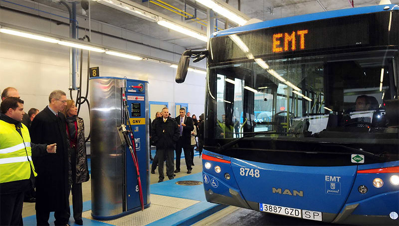 Espagne : Madrid valide l'acquisition de 170 bus GNV