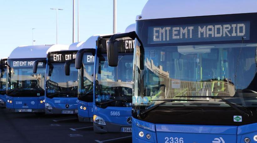 Madrid parie sur les bus au GNC