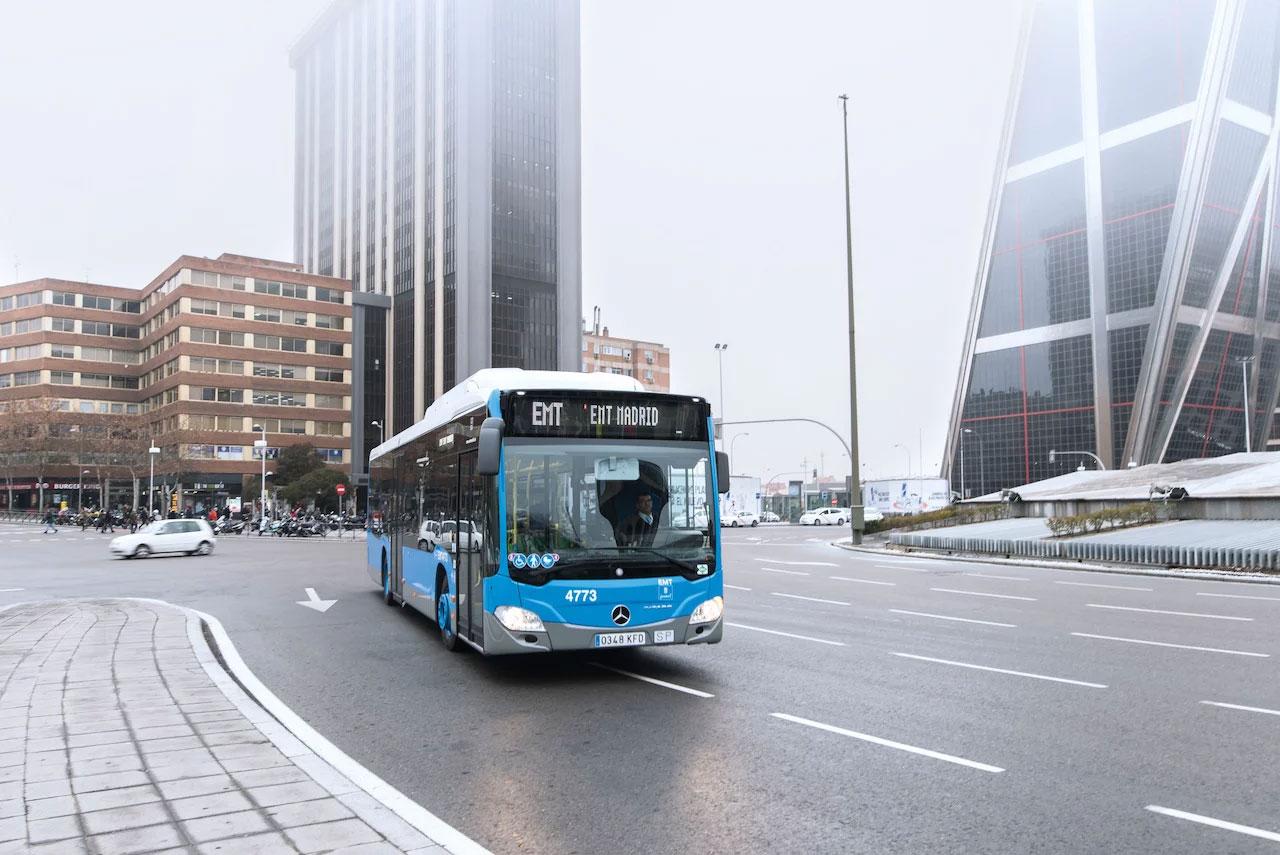 Madrid confirme son investissement dans les bus au GNC
