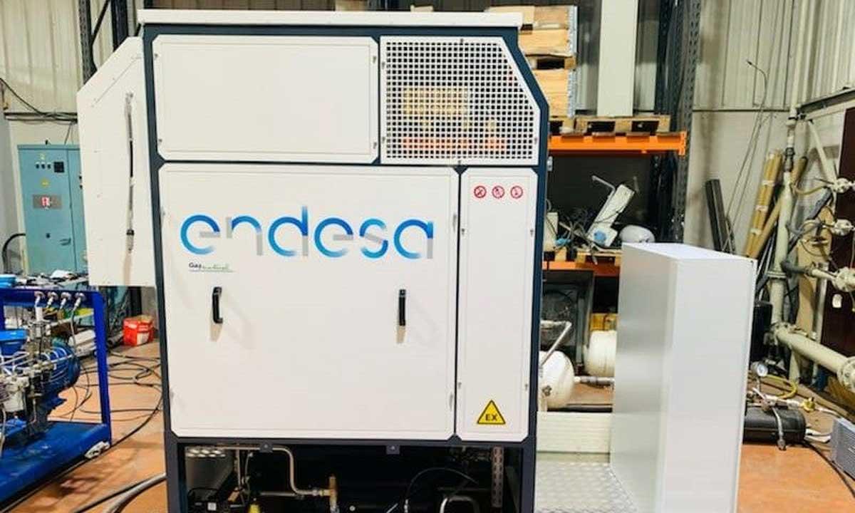Endesa GNV GO : une station Plug & Play proposée en location