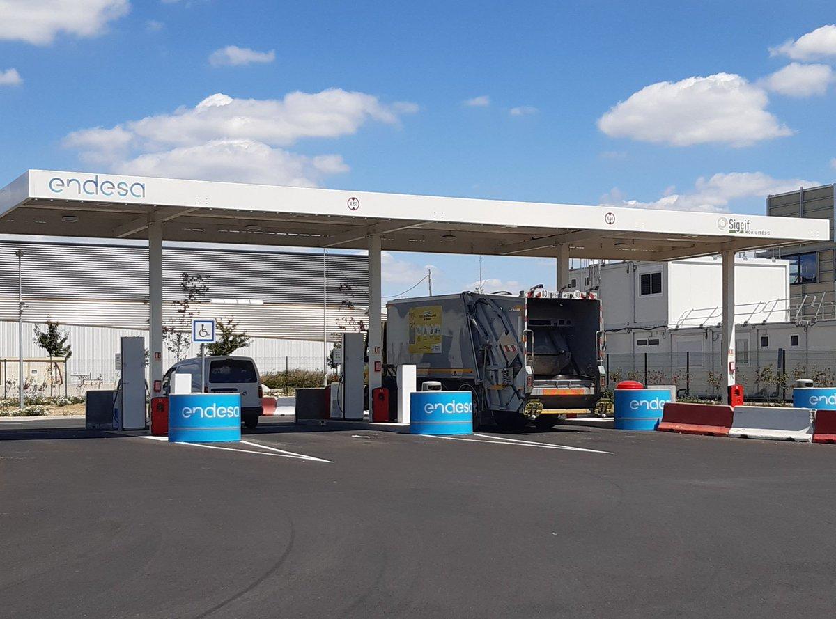 Ile-de-France : du bioGNV local pour les stations d'Endesa et de Sigeif Mobilités