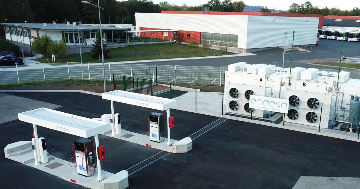 En Moselle, Endesa inaugure la station GNV de Sarreguemines