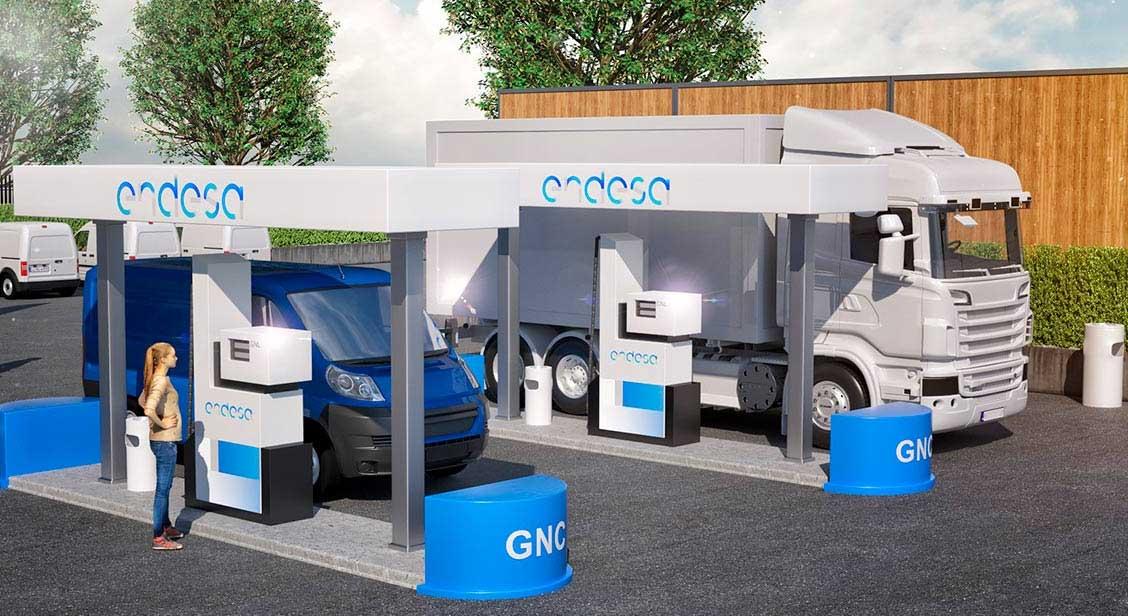 Endesa annonce l'arrivée de ses 4 prochaines stations GNV