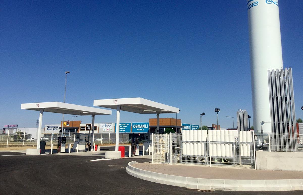 Une nouvelle station GNL pour Engie Solutions en Moselle