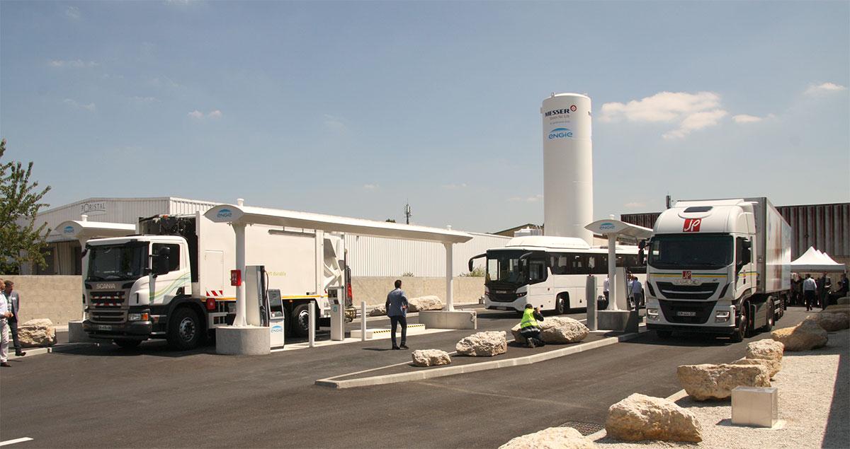 Ile-de-France : Engie et GNVERT inaugurent une nouvelle station GNV à La Courneuve