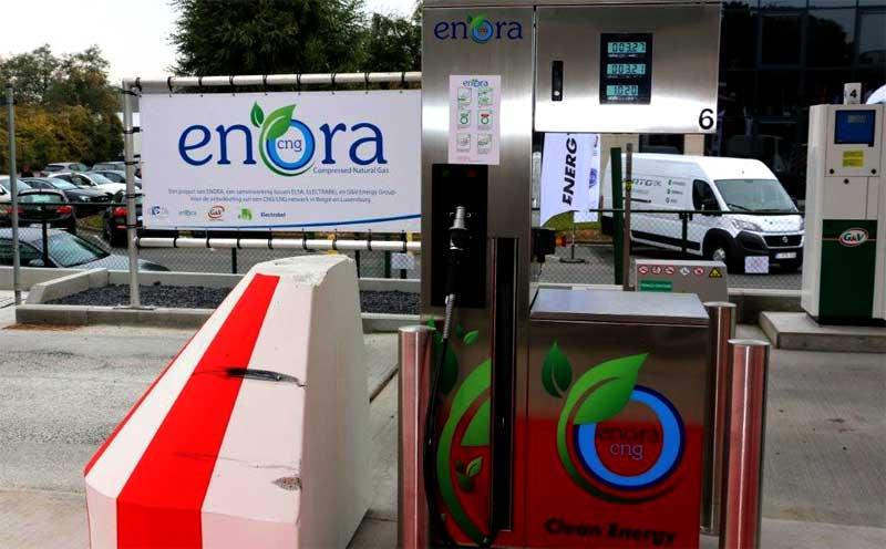 La mobilit� gaz naturel s��tend � Bruxelles avec Enora