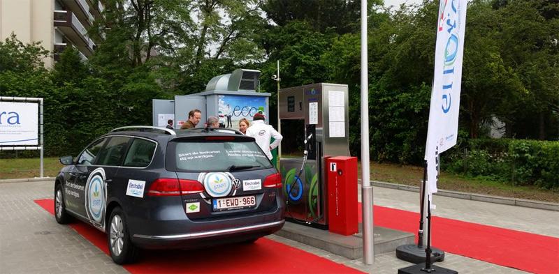 Belgique - Enora étend son réseau avec une nouvelle station GNV à Nivelles