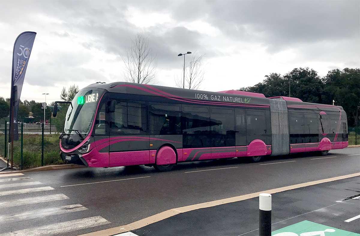 Alpes-Maritimes : des bus-tram au biogaz pour Sophia-Antipolis