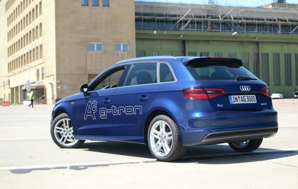 Voitures GNV - E.ON ajoute 40 Audi A3 G-tron à sa flotte