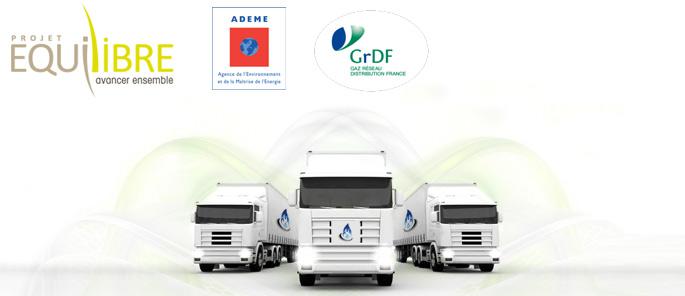 GNV en Vall�e de l�Arve - L�ADEME et GrDF valident les premiers financements