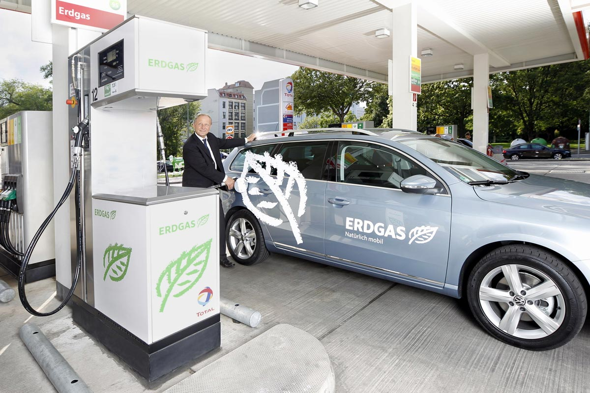 Forte augmentation de la part de biométhane dans le GNC en Allemagne