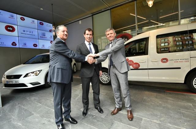 Espagne � EDP, Seat, Volkswagen et Audi s�associent pour promouvoir le GNV
