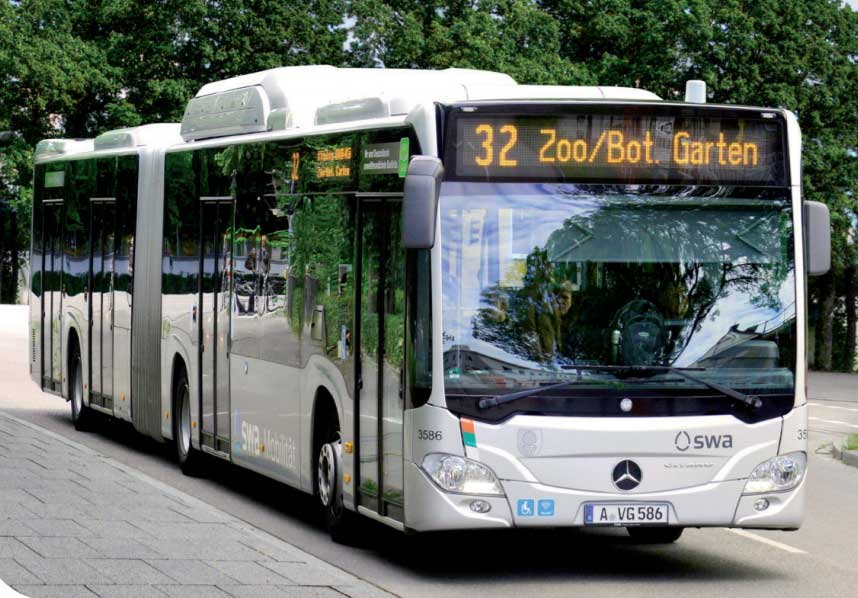 Les bus alimentés au GNV ressortent gagnants d'une étude comparative allemande