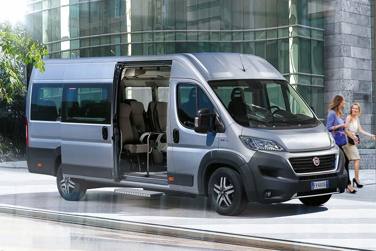Version minibus pour le Fiat Ducato GNV