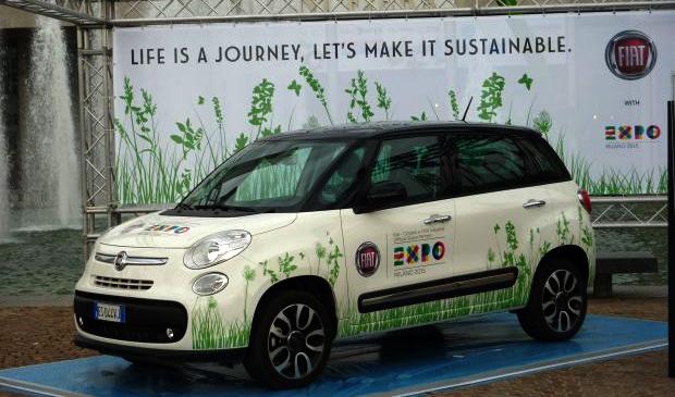 La Fiat 500 GNV � l'honneur de la prochaine exposition universelle � Milan