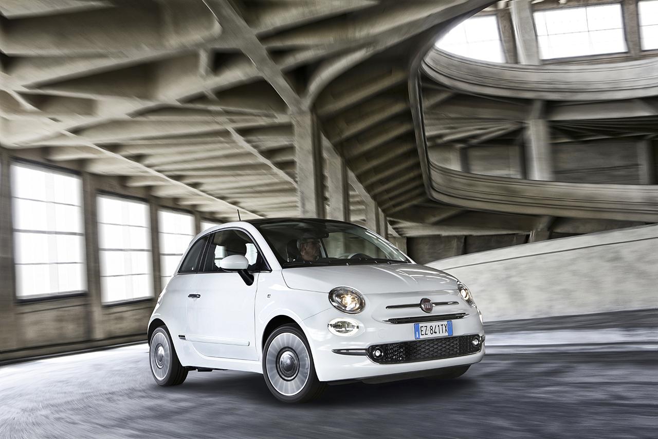 Fiat pr�sente la nouvelle Fiat 500 GPL