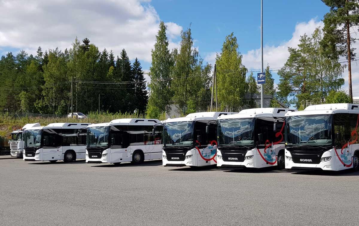 Finlande : des bus au bioGNV pour les transports publics de Hameenlinna