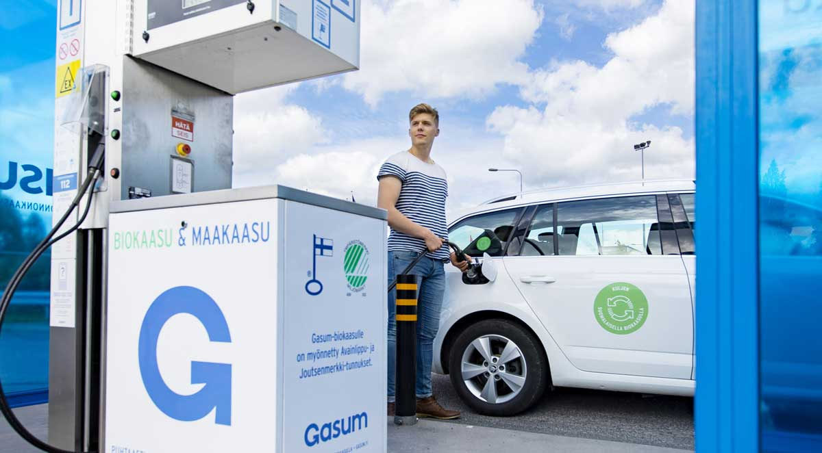 Finlande : un programme national pour développer le bioGNV
