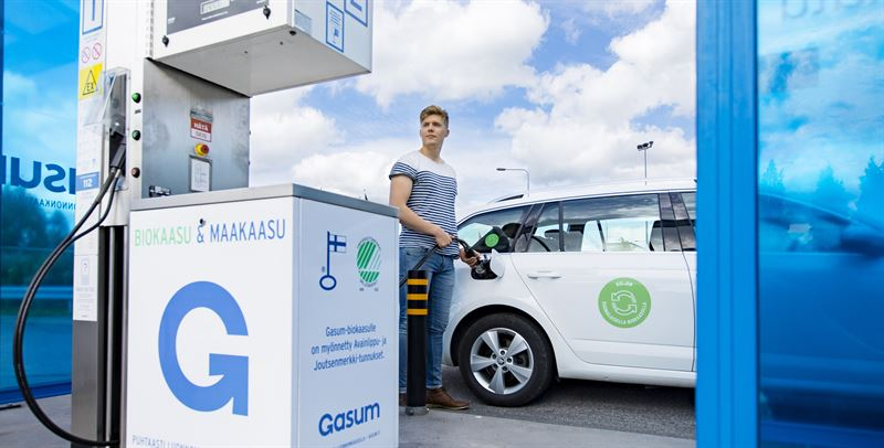 Finlande : le nombre de véhicules au gaz a doublé en 2018