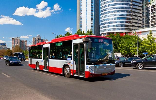 P�kin commande 1500 bus au gaz naturel � Foton