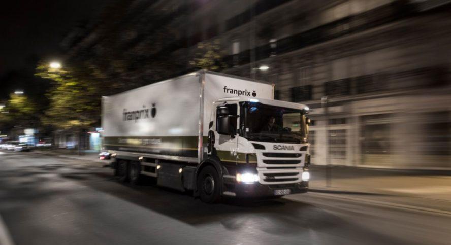 Des camions au gaz naturel pour Franprix à Paris