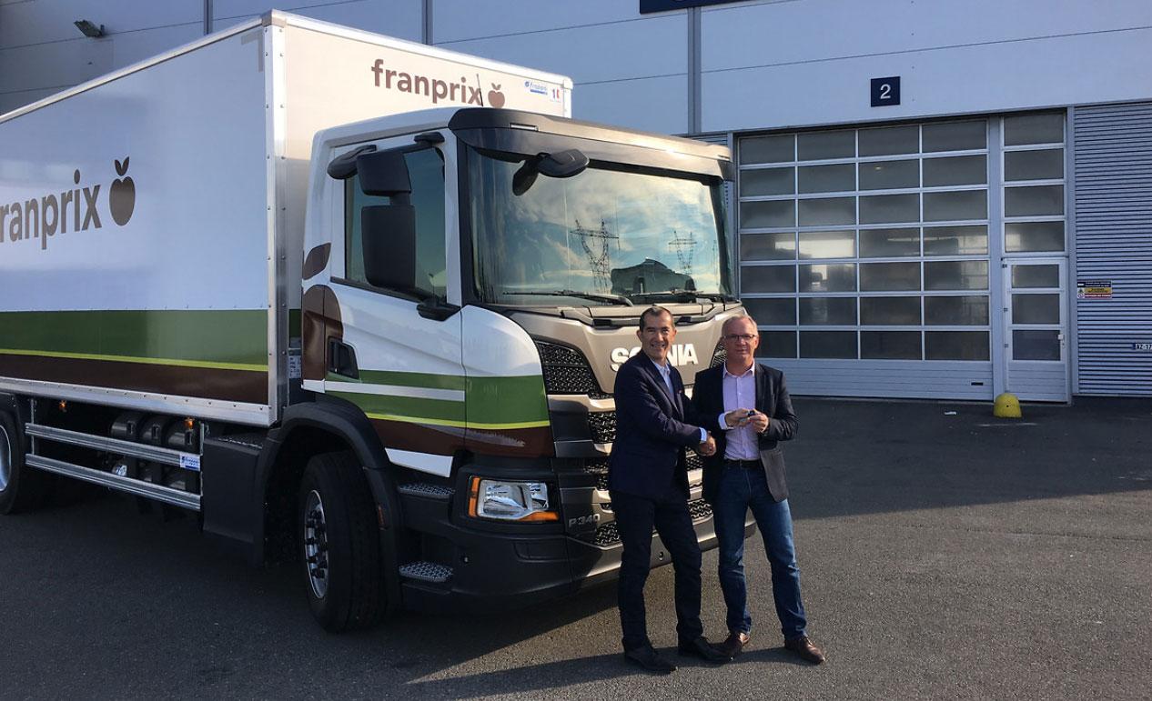 Ile-de-France : Franprix renforce sa flotte de camions GNV