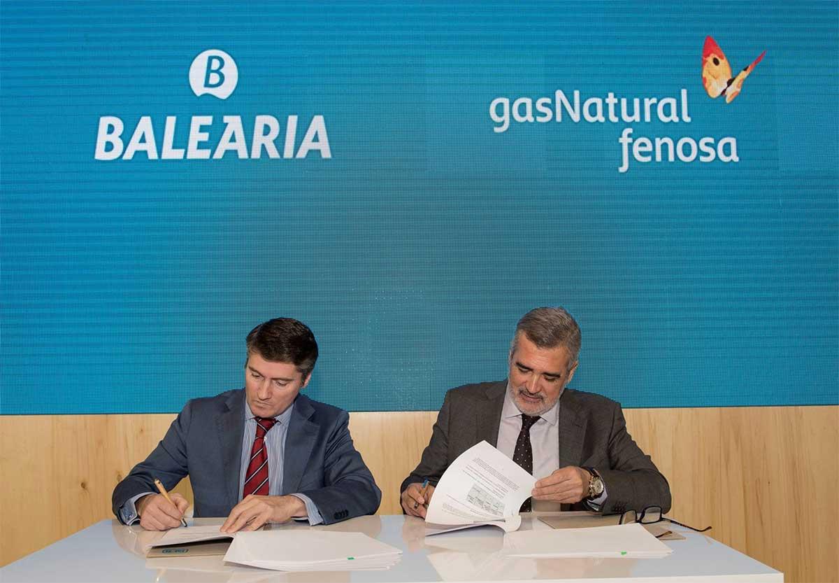 Baleària et Gas Natural Fenosa signent un premier contrat d'avitaillement GNL
