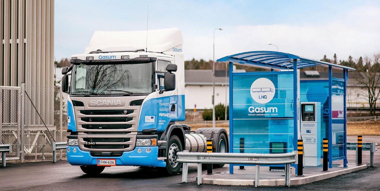 Suède : Gasum financé pour déployer 16 stations GNL