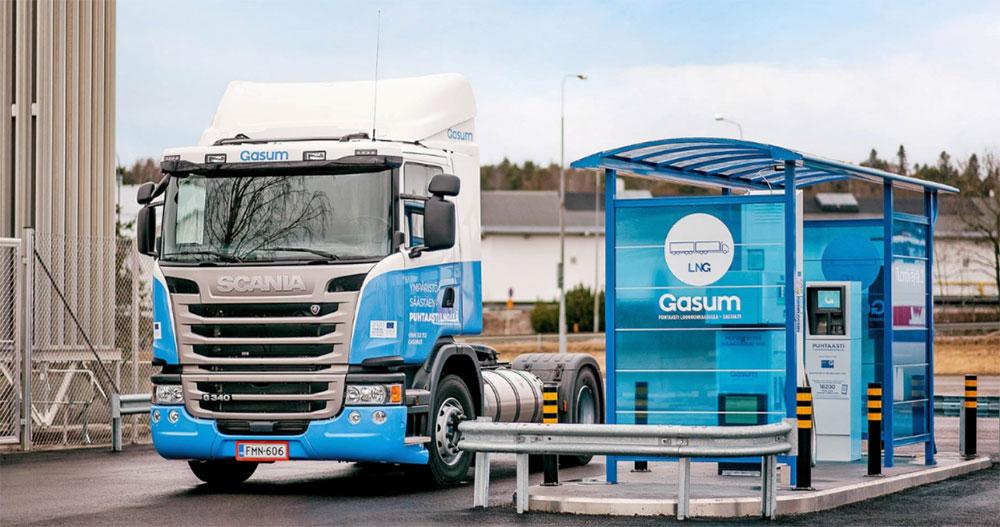 Gasum va étendre son réseau de stations GNV en Scandinavie