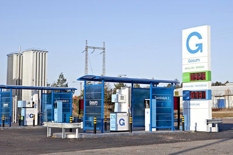 Finlande : Gasum ouvre une première station GNV à Turku