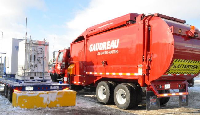 Qu�bec - Gaudreau Environnement choisit le gaz naturel