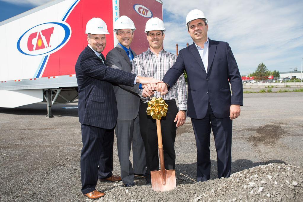 Canada - Gaz M�tro et Gain Fuel entame les travaux de leur premi�re station GNV