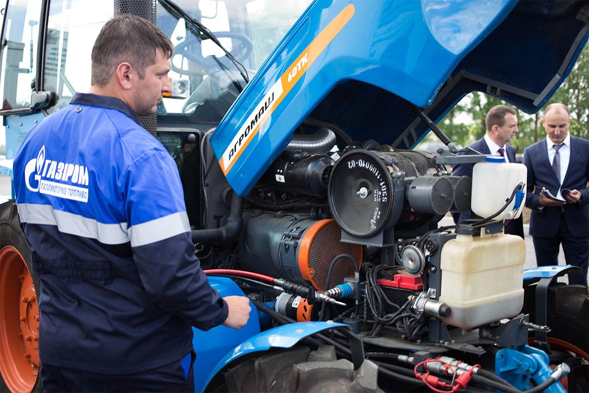 Russie : Gazprom lance une station mobile GNC pour les engins agricoles