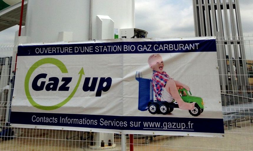 Gaz'UP inaugurera la station GNV de Toulouse le 5 avril