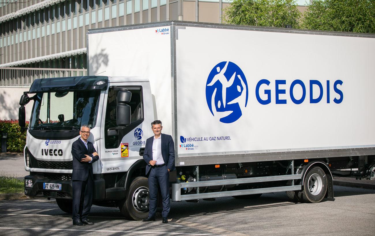 Geodis acquiert 200 véhicules au gaz naturel auprès d'Iveco