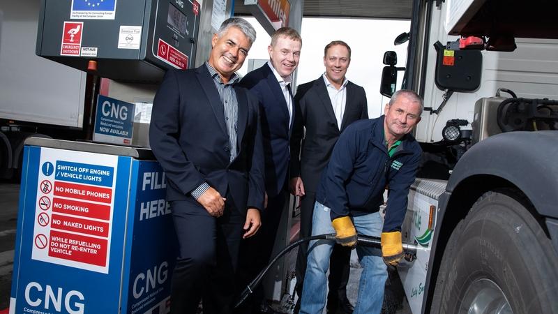 La première station GNV d'Irlande ouvre ses portes