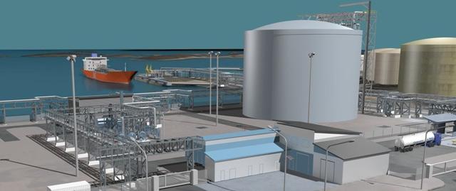 L�Europe valide le financement d�un terminal GNL en Finlande
