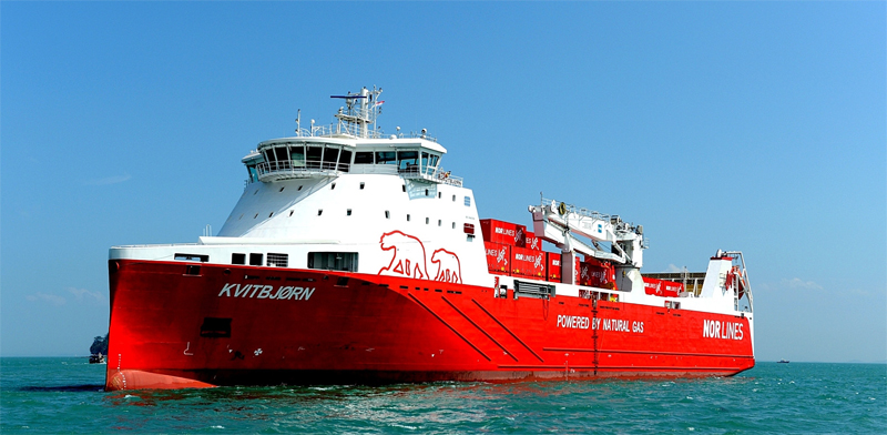 Une étude de WWF promeut le GNL dans le transport maritime