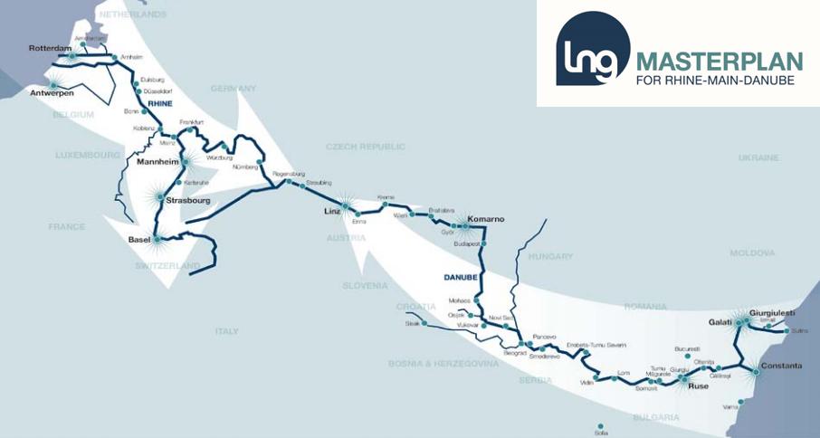 GNL, navigation int�rieure et s�curit� – Une �tude publi�e pour le couloir du Rhin