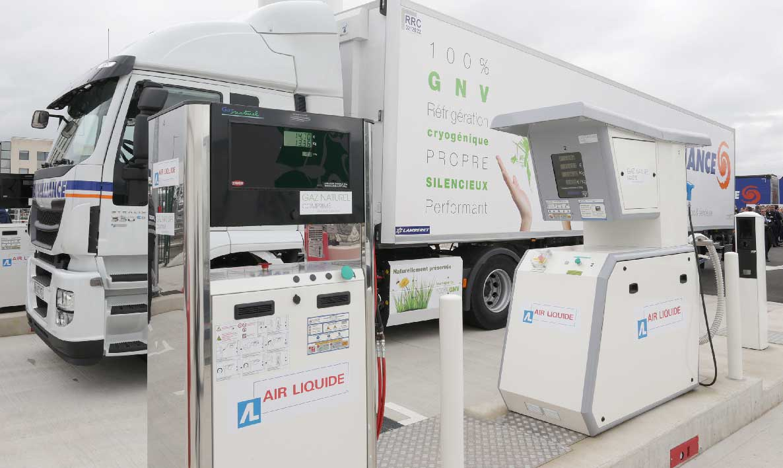 Dans l'Aisne, Air Liquide met en service la station GNV de Gauchy