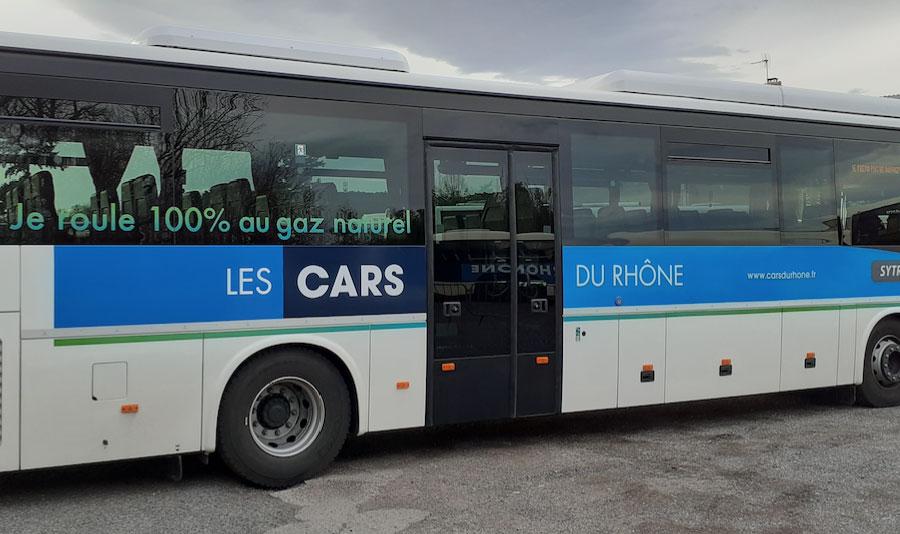 Du GNV pour les Cars du Rhône