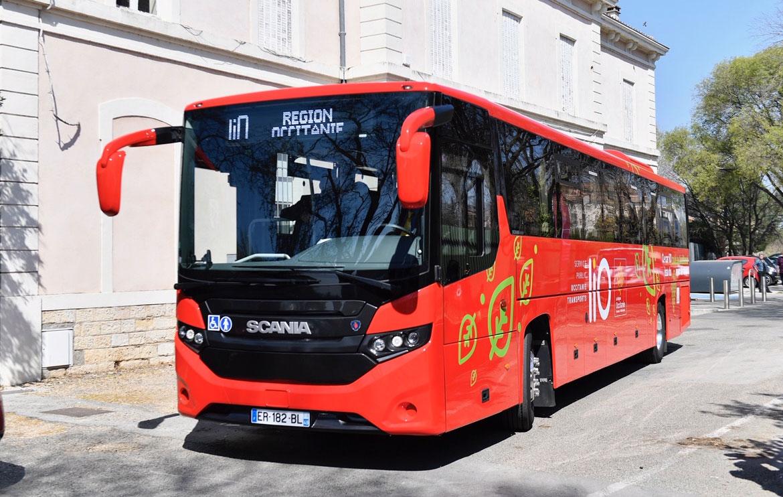 En Occitanie, liO intègre 5 nouveaux cars GNV à son réseau