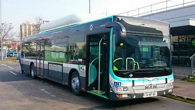 Bus GNV : MAN poursuit ses livraisons � la RATP