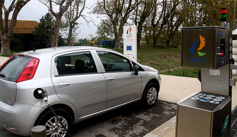 SMED 13 : un syndicat d'énergie précurseur du gaz carburant