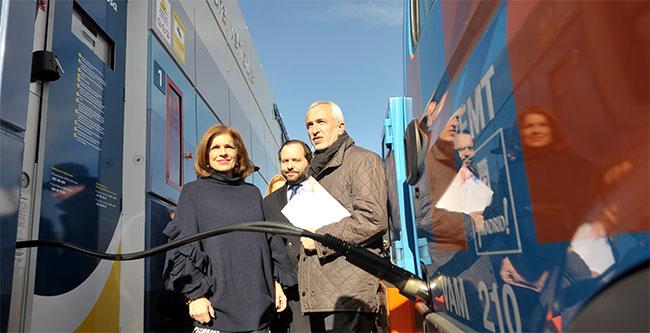 6 nouvelles stations GNV à Madrid en 2016
