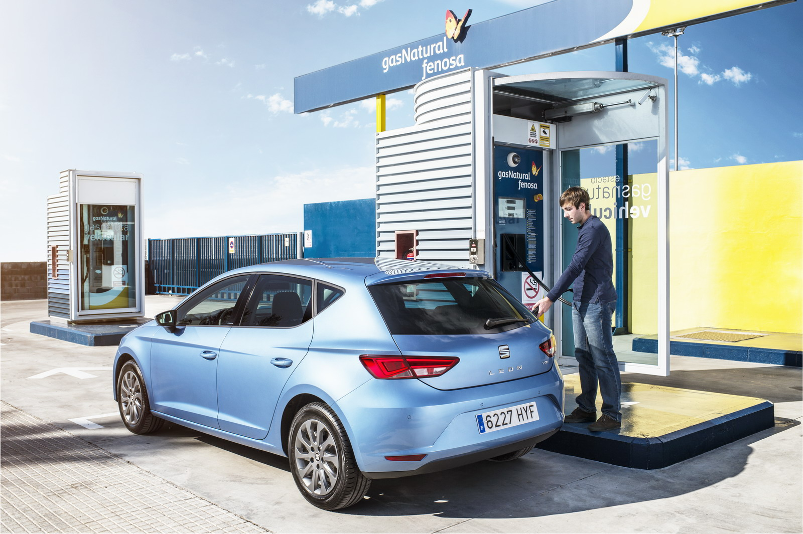 En Espagne, le nombre de véhicules au gaz a doublé en cinq ans