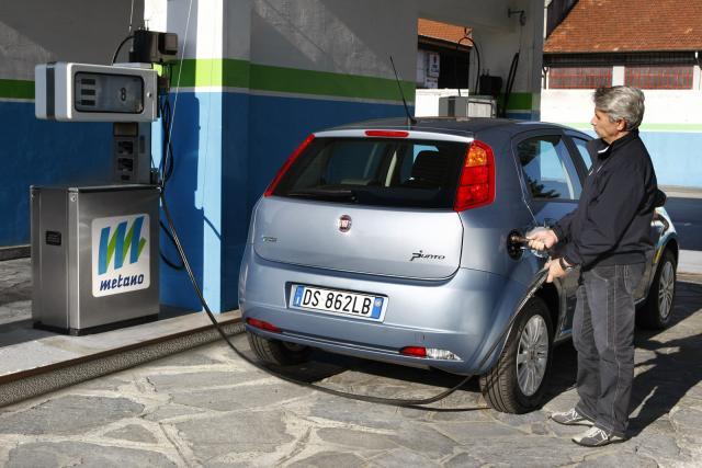 Italie - 72000 v�hicules GNV immatricul�s en 2014