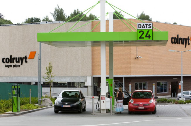 Belgique - DATS 24 inaugure une nouvelle station GNV à Overijse